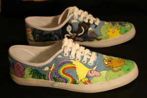 Adventure Time Shoes 2 by Simonbagel