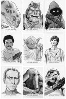 More Star Wars cards from the Perspectives Edition by 93Cobra