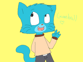 Gumball by cats-go-quack