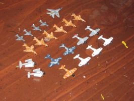 1/220 Scale Planes 1 by Coffeebean2