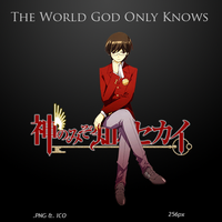 The World God Only Knows - Anime Icon by duckne55