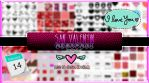 +SAN VALENTIN MEGAPACK by ISatQuietly