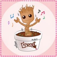 Groot DANCING !!!! by shaphire111