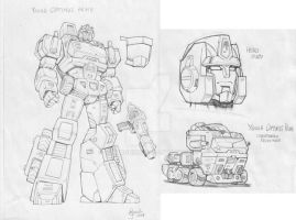 Young Optimus by GuidoGuidi