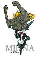 Midna by MeganTheartist