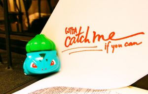Gotta Catch me if you Can!! by NAD-LifeOfficial