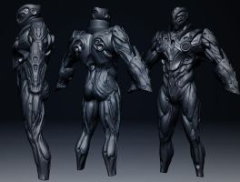 Current Armor Work in progress by MKounelakis