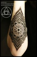 Geometric mandala by Peter Walrus Madsen by Meatshop-Tattoo