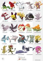 Pokemon Oryu collection 8 by shinyscyther