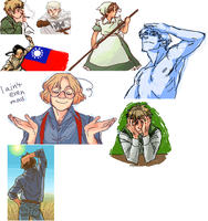 Iscribble Dump by Dredsina