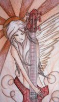 Gerard's Angel by likescarecrows