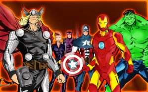 Avengers assemble by richrow