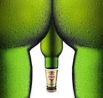 Ursus-beer-ads-two-bottles-as-legs-and-a-bottle-as by orange-leaves
