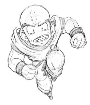 Krillin aka Ole Meat Mist by taves