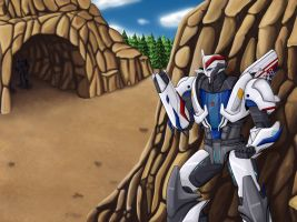 Smokescreen by Wrecker-lady