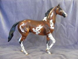 Lonesome Glory Custom breyer by Desert---Rose