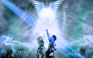 FANART: PRINCE AND VANITY R.I.P. by CSuk-1T