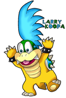 Larry Koopa by Tails19950