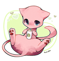 Mew by foxlett