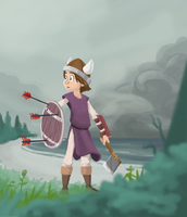 Viking Kid by madDolphin