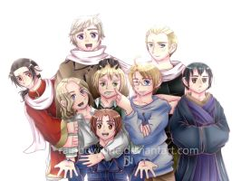 Hetalia - Axis and Allies by RainbowJune