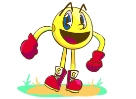 Pac Man by Coonstito