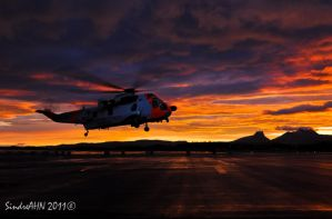 322 Scramble Sunrise by SindreAHN