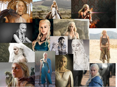 Mother of Dragons by kira19982013