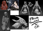 Zbrush Pactice by kimikow1