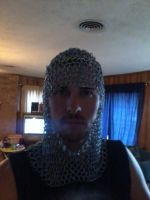 Chainmail Coif Complete by Mokavu