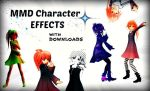MMD x MME Downloads 20 Model Effects Demo Vid by AnimeDBStudios
