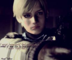 Sherry Birkin : I never knew until that moment by AnogaTheRose