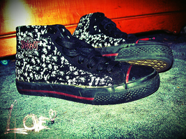 My Slipknot shoes by ffishy21