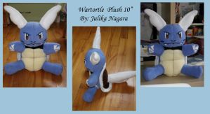 Wartortle Plush - First Trade by Julika-Nagara