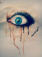 Watercolor Eye by LuluTheDrawer