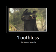 Toothless by sabermist3