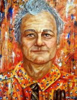 Bill Murray by amoxes