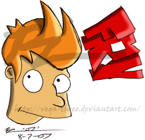 Fry Doodle by Vega-Three