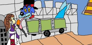 Ripper Roo's Congratulatory Smash Pic by Tommypezmaster
