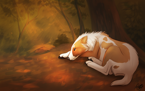 Sleepy Forest by InstantCoyote
