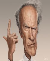 Clint Eastwood by YoannLori