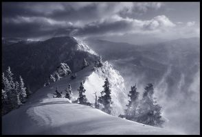 The Summit Ridge by MarcAdamus