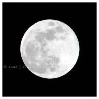 A Perigee Moon by jdrainville