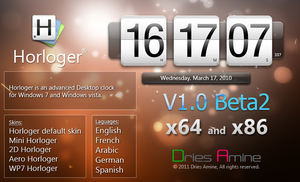 Horloger V1.0 Beta2 by amine5a5