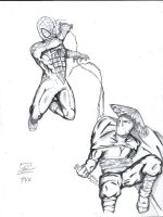 The Amazing Spider-Man vs Hukom The Aswang Slayer by GreenMind-Dead