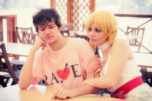 Catherine and Vincent first meeting @ Stray Sheep by xenya-cullen