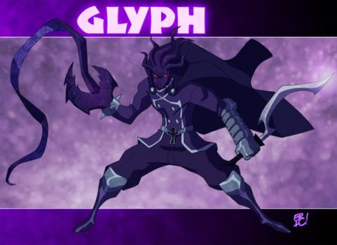 Glyph Commission Final by EricGuzman