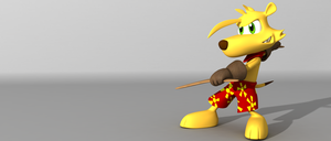 Ty the Tasmanian Tiger by thekeyofE