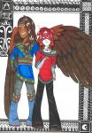 My big brother and his wings by Dragoness-Lephisto