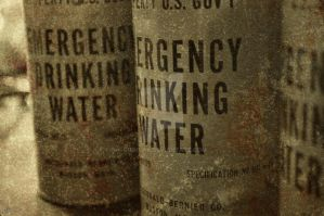 Emergency Drinking Water by GrimFay